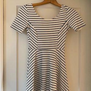 Nordstrom Striped Skater Dress by LUSH